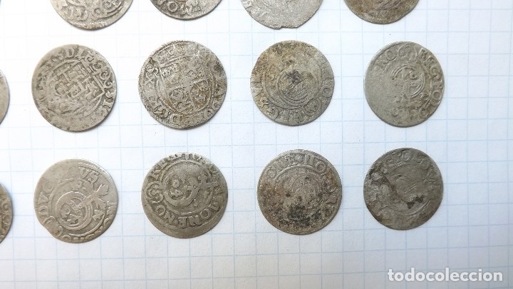 Monedas reinos visigodos: coins of poland and sweden 17th century - Foto 4 - 176283403