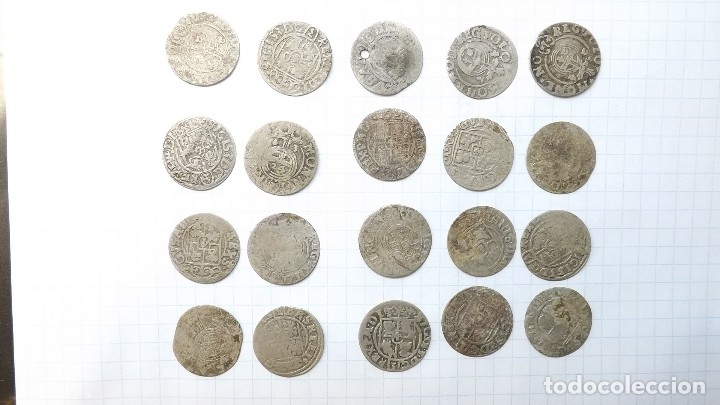 Monedas reinos visigodos: coins of poland and sweden 17th century - Foto 5 - 176283403