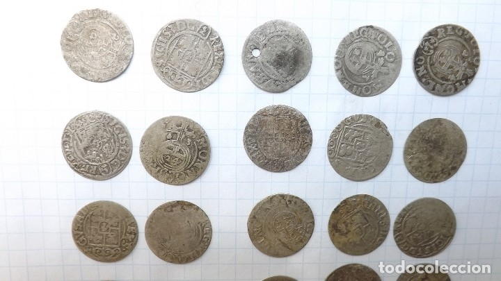 Monedas reinos visigodos: coins of poland and sweden 17th century - Foto 6 - 176283403