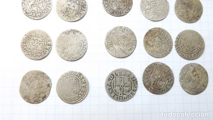 Monedas reinos visigodos: coins of poland and sweden 17th century - Foto 7 - 176283403