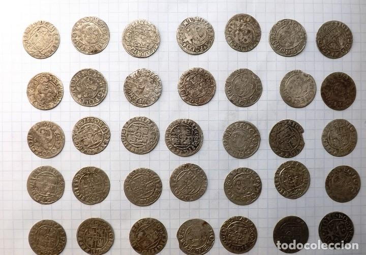 COINS OF POLAND AND SWEDEN 17TH CENTURY-2 (Numismática - Hispania Antigua - Reinos Visigodos)