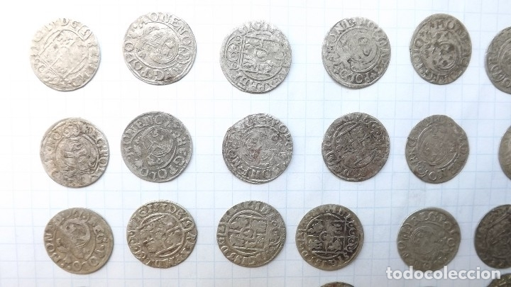 Monedas reinos visigodos: coins of poland and sweden 17th century-2 - Foto 2 - 176283557