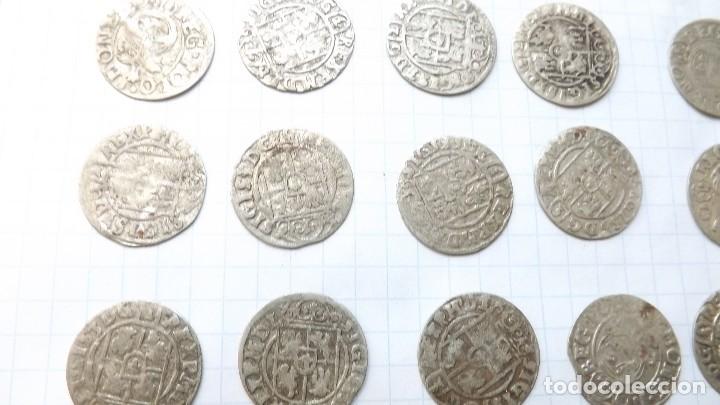 Monedas reinos visigodos: coins of poland and sweden 17th century-2 - Foto 4 - 176283557