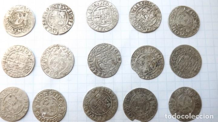 Monedas reinos visigodos: coins of poland and sweden 17th century-2 - Foto 8 - 176283557