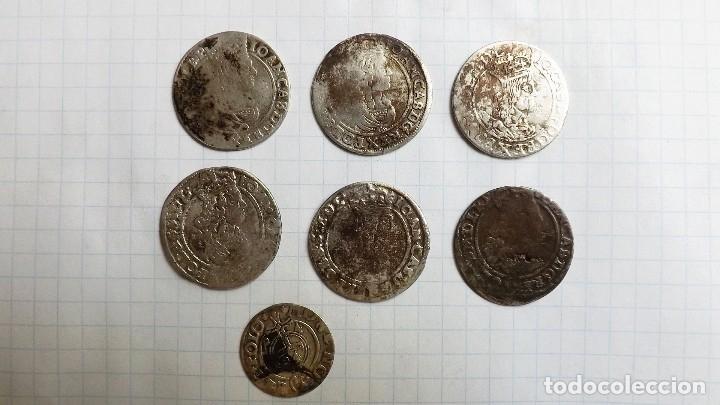 COINS OF POLAND AND 17TH CENTURY (Numismática - Hispania Antigua - Reinos Visigodos)
