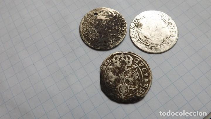 COINS OF POLAND 17TH CENTURY (Numismática - Hispania Antigua - Reinos Visigodos)