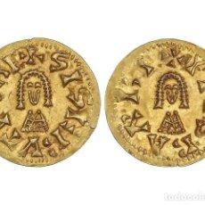 Monedas reinos visigodos: MONEDAS VISIGODAS, TRIENTE., BARBI (BAÉTICA).. Lote 181486100