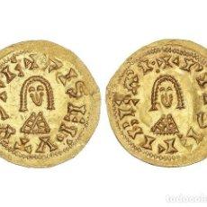 Monedas reinos visigodos: MONEDAS VISIGODAS, TRIENTE., ELIBERRI (BAÉTICA).. Lote 181486103