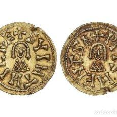 Monedas reinos visigodos: MONEDAS VISIGODAS, TRIENTE., MENTESA (CARTHAGINENSIS).. Lote 181486115