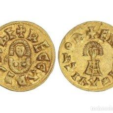 Monedas reinos visigodos: MONEDAS VISIGODAS, TRIENTE., EMERITA (LUSITANIA).. Lote 181486120