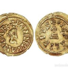 Monedas reinos visigodos: MONEDAS VISIGODAS, TRIENTE., ISPALI.. Lote 181486135