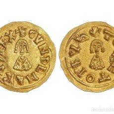 Monedas reinos visigodos: MONEDAS VISIGODAS, TRIENTE., TOLETO (CARTHAGINENSIS).. Lote 181486143