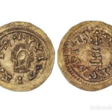 Monedas reinos visigodos: MONEDAS VISIGODAS, TRIENTE., MENTESA (CARTHAGINENSIS).. Lote 181486178