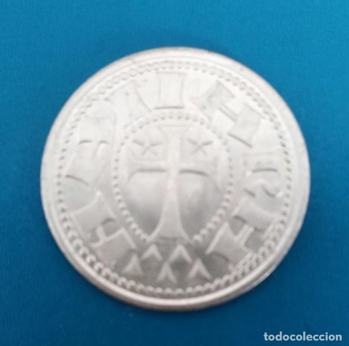 Monedas reinos visigodos: Moneda visigoda plata. Spain Silver coin - Foto 2 - 199840177