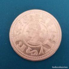Monedas reinos visigodos: MONEDA VISIGODA PLATA. SPAIN SILVER COIN. Lote 199840415