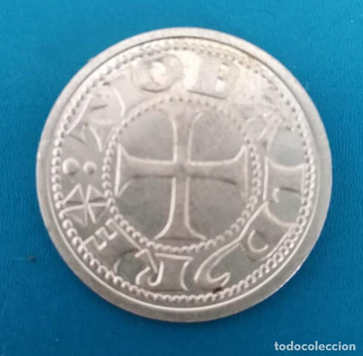 Monedas reinos visigodos: Moneda visigoda plata. Spain Silver coin - Foto 2 - 199840907
