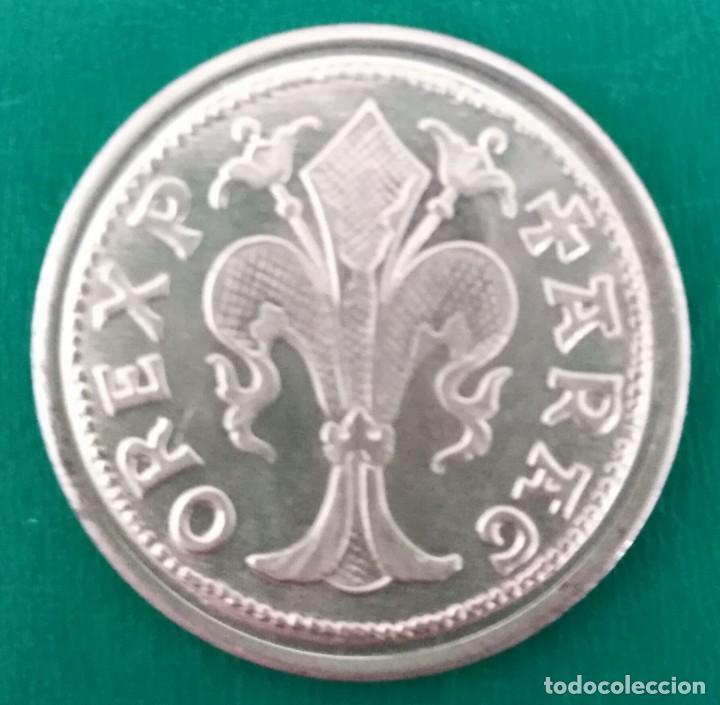 Monedas reinos visigodos: Moneda medieval plata. Spain Silver coin - Foto 2 - 199929962