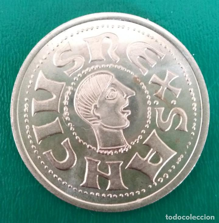 MONEDA VISIGODA PLATA. SPAIN SILVER COIN (Numismática - Hispania Antigua - Reinos Visigodos)
