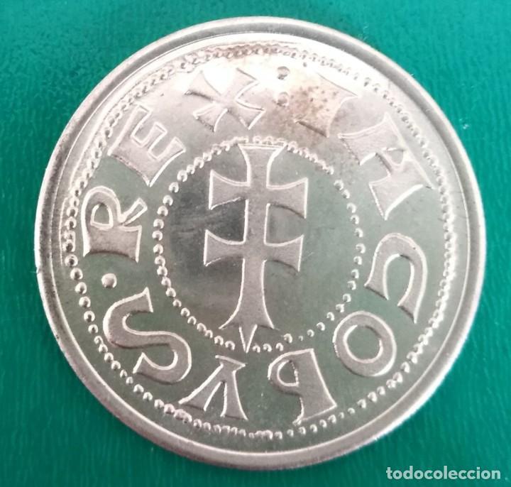 Monedas reinos visigodos: Moneda visigoda plata. Spain Silver coin - Foto 2 - 199937083