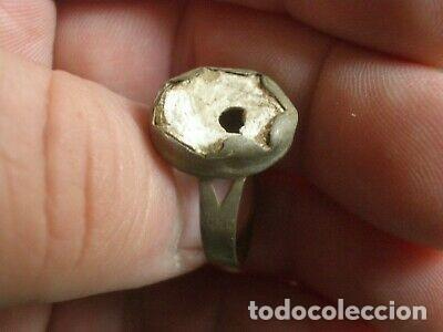 Monedas reinos visigodos: BONITO ANILLO MEDIEVAL O VISIGODO. - Foto 3 - 203353472