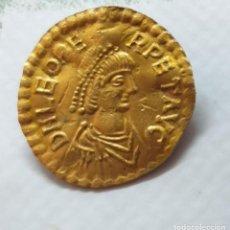 Monedas reinos visigodos: TREMISSIS DE LEO I CECA DE CONSTANTINOPLA AÑO 457-474,D.C.PESO 149 GR.M. ORO. Lote 205716101