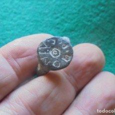 Monedas reinos visigodos: BONITO Y ESCASO SELLO VISIGODO CON LETRAS , DIAMETRO INTERIOR 20 MM. Lote 220483010