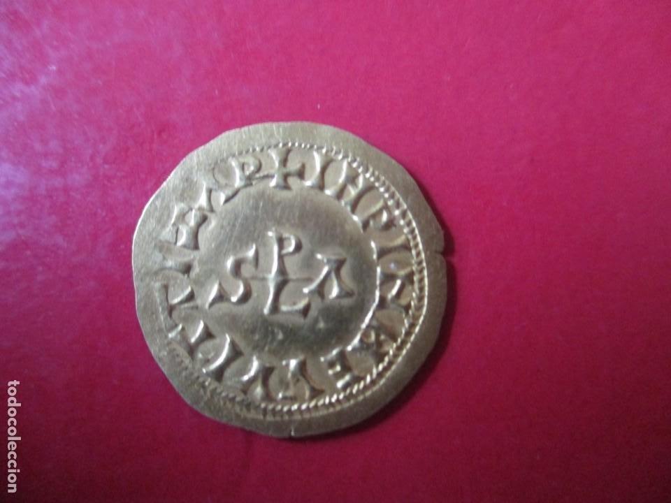 Monedas reinos visigodos: Reinos visigodos. tremis de Witiza Hispali. # SG - Foto 2 - 225836885