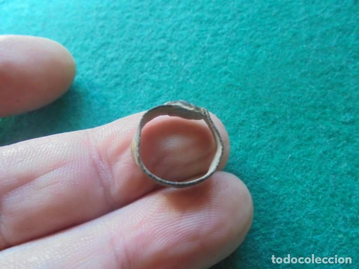 Monedas reinos visigodos: bonito anillo en bronce , diametro interior 15 mm , para un niño - Foto 2 - 233822615