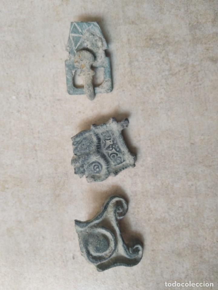 LOTE VISIGODO PARA LIMPIAR. (Numismática - Hispania Antigua - Reinos Visigodos)