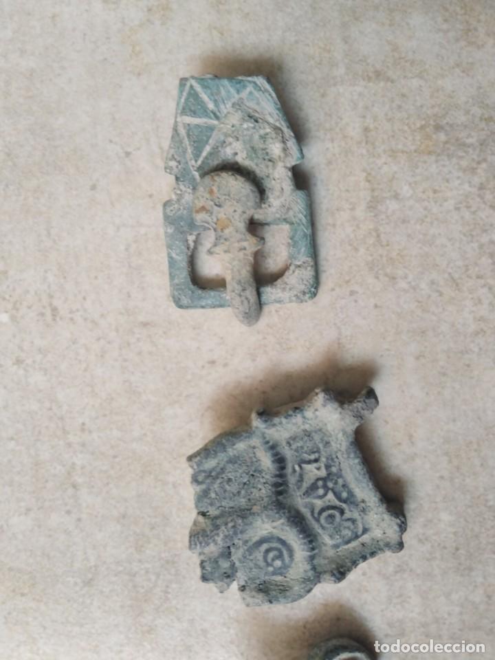 Monedas reinos visigodos: LOTE VISIGODO PARA LIMPIAR. - Foto 2 - 238010340