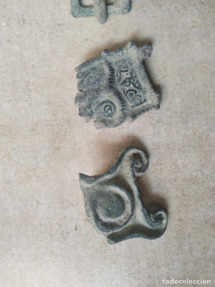 Monedas reinos visigodos: LOTE VISIGODO PARA LIMPIAR. - Foto 3 - 238010340