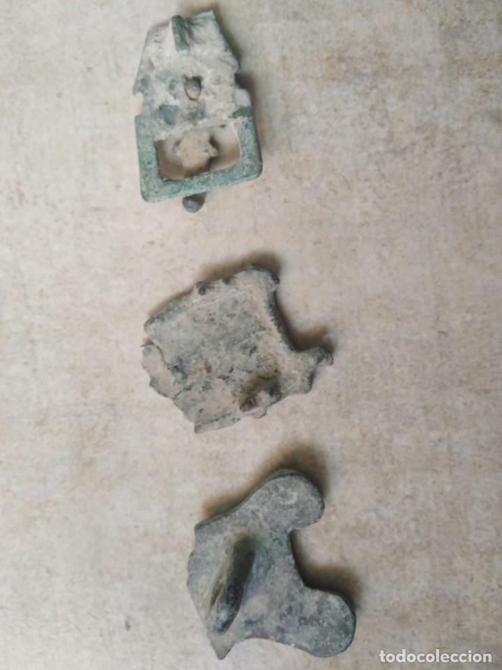 Monedas reinos visigodos: LOTE VISIGODO PARA LIMPIAR. - Foto 4 - 238010340