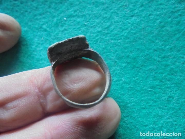 Monedas reinos visigodos: curioso anillo en bronce con leyenda a identificar - Foto 3 - 241960665