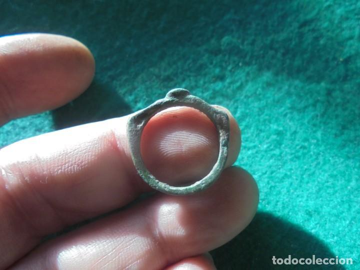 Monedas reinos visigodos: curioso anillo en bronce - Foto 3 - 241960955