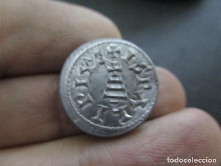 TRIENTE DE RESCENVITO ACUNACION ORIGINAL DE BECKER (1803) (Numismática - Hispania Antigua - Reinos Visigodos)