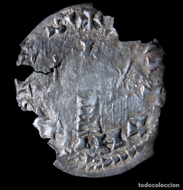 Monedas reinos visigodos: Triente Visigodo, Ceca Egitania - 19 mm / 0.77 gr. - Foto 2 - 257482435