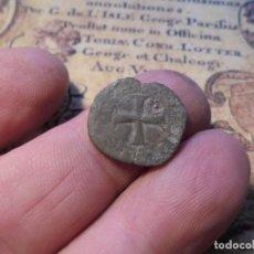 Monedas reinos visigodos: CURIOSA MONEDA MEDIEVAL, ALFONSO VII? O EPISCOPAL LOCAL?. Lote 270172948