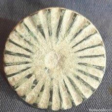 Monedas reinos visigodos: BOTÓN VISIGODO DE BRONCE TALLADO. Lote 271877013