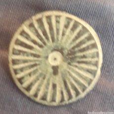 Monedas reinos visigodos: BOTÓN VISIGODO DE BRONCE TALLADO. Lote 271881168