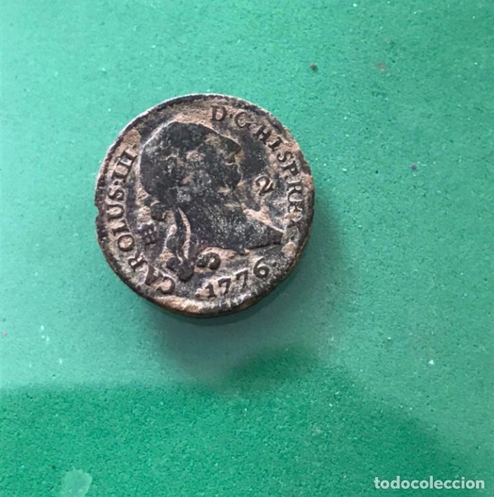 ESPAÑA-CAROLUS III. 2 MARAVEDIS. 1775. COBRE (Numismática - Hispania Antigua - Reinos Visigodos)