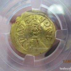 Monedas reinos visigodos: TRIENTE VISIGODO ORO DE SISEBUTO EN CORDOBA. Lote 287398983