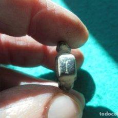 Monedas reinos visigodos: ANILLO VISIGODO EN BRONCE DECORADO CON UNA LETRA Y DOS PAJAROS. Lote 290654758