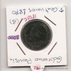 Monedas República: GOBIERNO PROVISIONAL 5 CENTIMOS . Lote 10442608