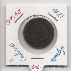 Monedas República: GOBIERNO PROVISIONAL 5 CENTIMOS . Lote 19493258