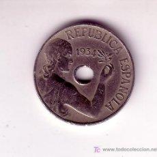 Monedas República: 25 CENTIMOS-REPUBLICA 1934. Lote 27265364