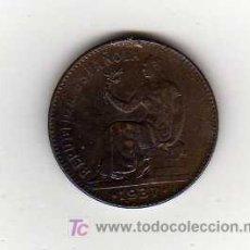 Monedas República: MONEDA DE 50 CENTIMOS - REPUBLICA ESPAÑOLA 1937. Lote 15154067