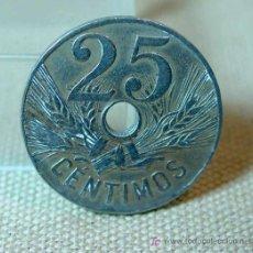 Monedas República: MONEDA ESPAÑOLA DE 25 CENTIMOS, 1927. Lote 16511224
