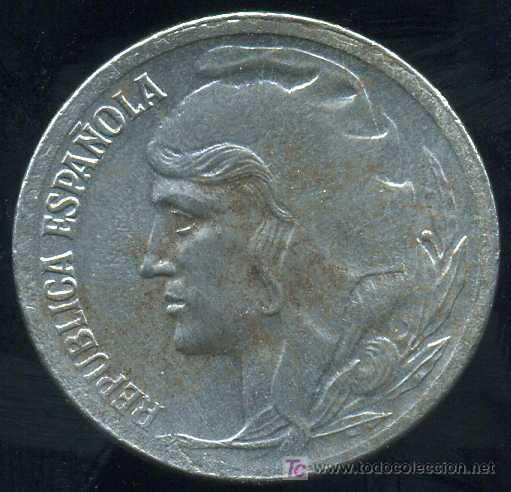 II REPUBLICA : 5 CENTIMOS 1937 (HIERRO) (Numismática - España Modernas y Contemporáneas - República)