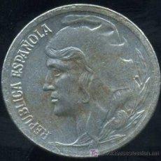 Monedas República: II REPUBLICA : 5 CENTIMOS 1937 (HIERRO). Lote 20917151