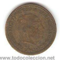 Monedas República: MONEDA 1 PESETA 1963 CIRCULADA. Lote 30082308